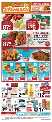 Shaw's deals in the Shaw's catalog ( Published today)