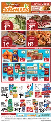 Grocery & Drug deals in the Shaw's catalog ( Published today)