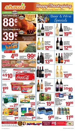 Shaw's deals in the South Burlington VT weekly ad