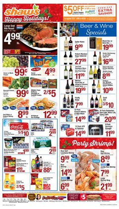 Shaw's deals in the Bangor ME weekly ad