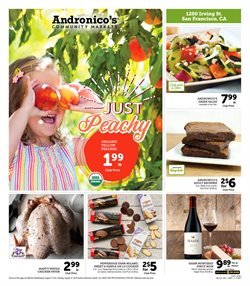 Andronico's deals in the Berkeley CA weekly ad
