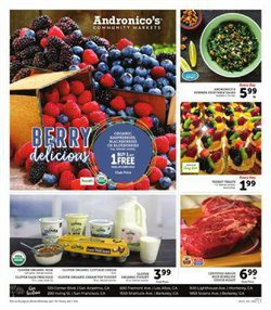 Andronico's catalogue in San Francisco CA ( Expires today )