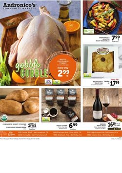Andronico's catalogue ( 3 days left )