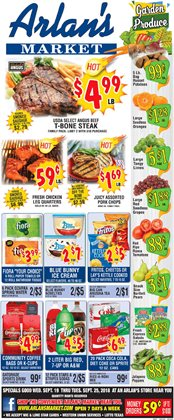 Water deals in the Arlan's Market weekly ad in Humble TX