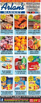 Arlan's Market deals in the San Antonio TX weekly ad