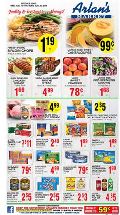 Grocery & Drug deals in the Arlan's Market weekly ad in San Antonio TX