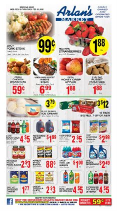 Arlan's Market catalogue ( 2 days ago )