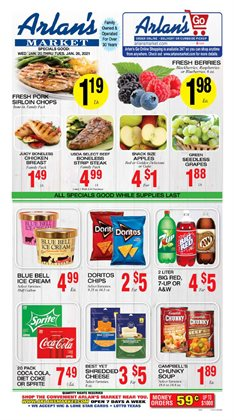 Grocery & Drug offers in the Arlan's Market catalogue in Galveston TX ( Expires today )