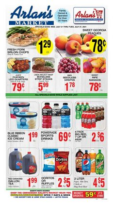 Grocery & Drug deals in the Arlan's Market catalog ( Expires tomorrow)