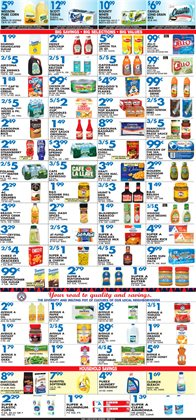 Bleach deals in the Associated weekly ad in New York