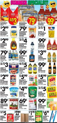 Pasta deals in the Associated weekly ad in New York
