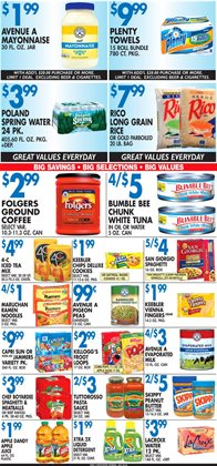 Bumble Bee deals in the Associated weekly ad in New York
