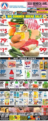 Grill deals in the Associated weekly ad in New York