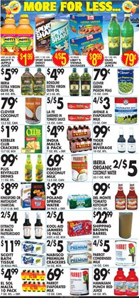 Tissues deals in the Associated weekly ad in New York
