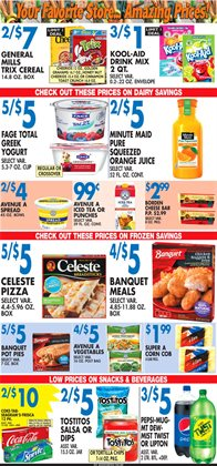 Spices deals in the Associated weekly ad in New York