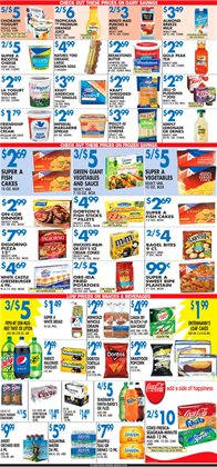Pizza deals in the Associated weekly ad in New York