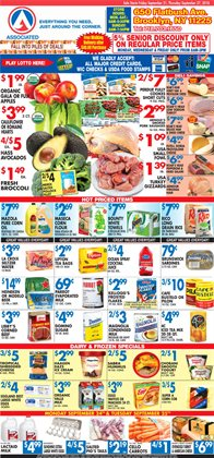 Bags deals in the Associated weekly ad in Flushing NY