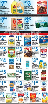 Coffee deals in the Associated weekly ad in New York