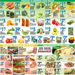 Sandwiches deals in the Associated weekly ad in New York