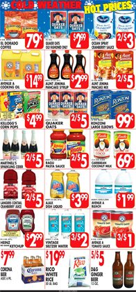 Cider deals in the Associated weekly ad in New York