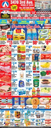 Barilla deals in the Associated weekly ad in Flushing NY