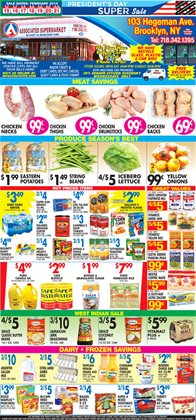 Lettuce deals in the Associated weekly ad in New York