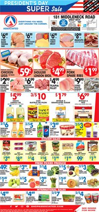 Associated deals in the New York weekly ad