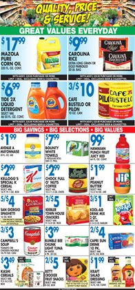 Campbell's deals in the Associated weekly ad in New York