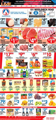 Chicken thighs deals in the Associated weekly ad in New York