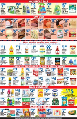 Tropicana deals in the Associated weekly ad in New York