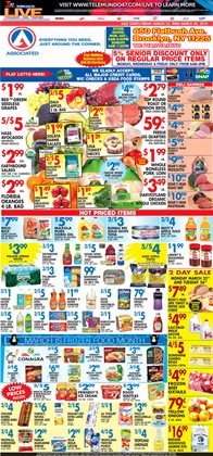 Onions deals in the Associated weekly ad in New York