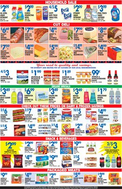 Vegetables deals in the Associated weekly ad in New York