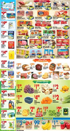Milk deals in the Associated weekly ad in New York