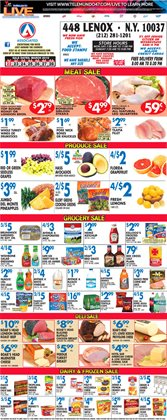 Cups deals in the Associated weekly ad in New York