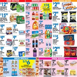 Beer deals in the Associated weekly ad in New York