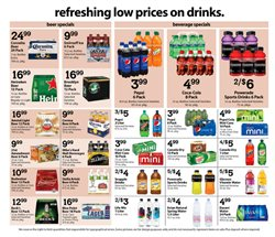 Pepsi deals in the Associated weekly ad in New York