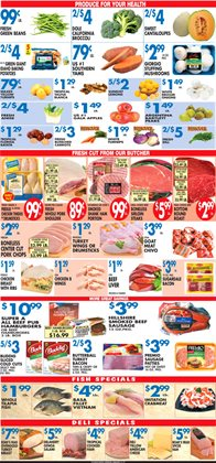 Christmas deals in the Associated weekly ad in New York