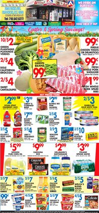 Broccoli deals in the Associated weekly ad in New York
