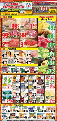 Associated deals in the Long Island City NY weekly ad