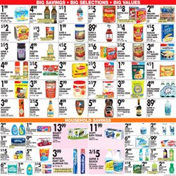 Soap deals in the Associated weekly ad in New York