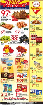 Bashas' deals in the Scottsdale AZ weekly ad