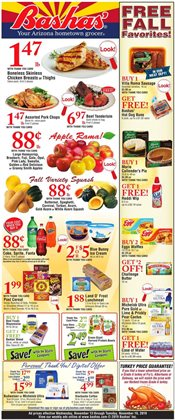 Bashas' deals in the Tucson AZ weekly ad