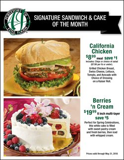 AJ's Fine Foods deals in the Scottsdale AZ weekly ad
