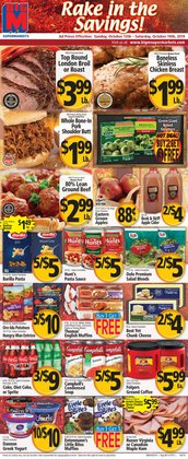 BigM deals in the Syracuse NY weekly ad