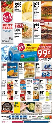 Chicken deals in the Big Y weekly ad in New Haven CT