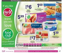 Grocery & Drug deals in the Big Y catalog ( Published today)