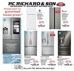 Electronics & Office Supplies offers in the P.C. Richard & Son catalogue in New Haven CT ( Published today )