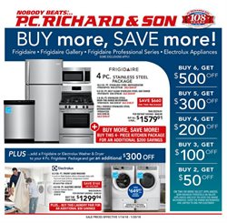 P.C. Richard & Son deals in the New York weekly ad