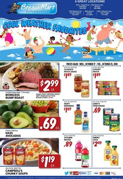 Breaux Mart deals in the New Orleans LA weekly ad