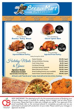 Breaux Mart deals in the Metairie LA weekly ad